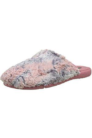 victoria Damen Chinela Pelo Bicolor Pantoffeln, Rose