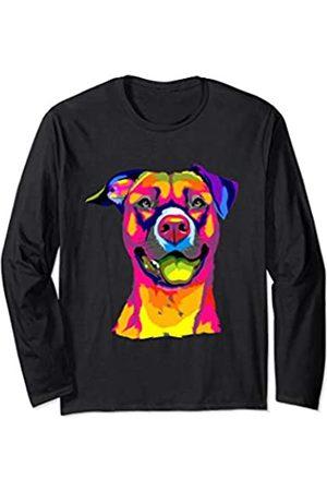 American Pitbull Terrier & Geschenke Pitbull Terrier Hund Hunderasse Geschenk Damen Herren Langarmshirt