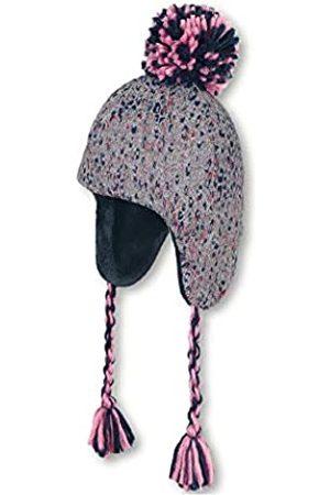 Sterntaler Inka-Mütze für Mädchen mit Bommel und passenden Zopfbändern, Alter: 5-6 Monate, Größe: 43