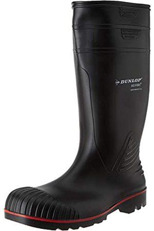 Dunlop A442031 S5 ACIF. KNIE ZWART 42, Unisex-Erwachsene Halbschaft Gummistiefel ( (Zwart) 00)