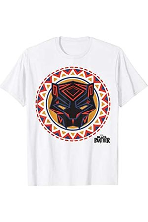 Marvel Black Panther Geometric Circle Logo T-Shirt