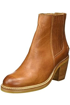 Fred de la Bretoniere Damen SHS0606 Chelsea Boots, (Brown 3344)