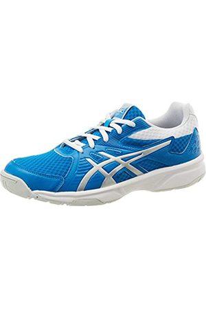 Asics Womens Upcourt 3 Squash Shoe, Directoire Blue/Pure Silver