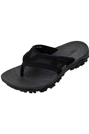 Merrell Herren Moab Drift 2 Flip Sandalen, (Black Black)