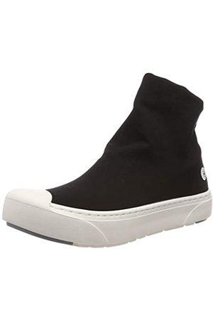Heybrid Damen Stiefel Nylon Hohe Sneaker, ( 5405010)