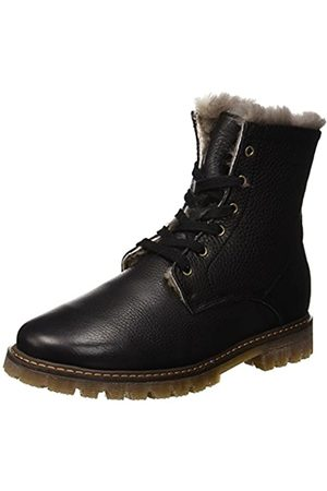 Bisgaard Unisex-Kinder 51917218 Combat Boots, (204 Black)
