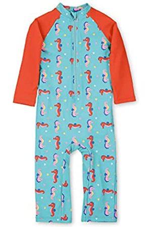 Sterntaler Kinder Mädchen Schwimmanzug mit Windeleinsatz, Lange Arme und Beine, UV-Schutz 50+, Alter: 18-24 Monate, Größe: 92