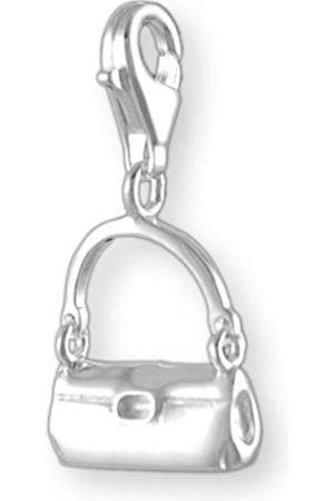 Melina Damen-Charm Anhänger Tasche 925 Sterling Silber 1800360