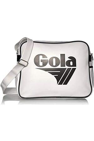 Gola Redford CUB901 Unisex - Erwachsene Henkeltaschen, Weiss (White/Black)