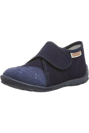 Froddo Jungen Boy Slipper G17000033-1 Flache Hausschuhe, (Blue)