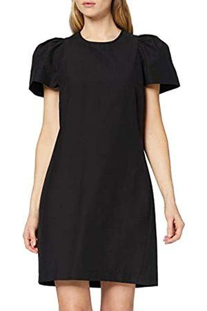 FIND Amazon-Marke: Abendkleid Damen mit Puffärmeln und rundem Ausschnitt, 38