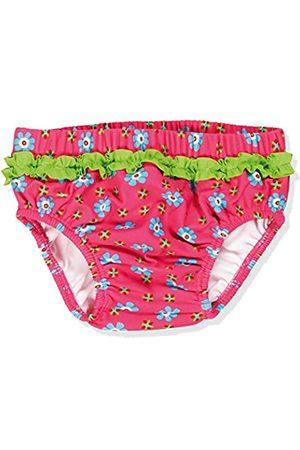 Playshoes Baby - Mädchen Schwimmwindel Badewindel, Badehose Blumen, UV-Schutz nach Standard 801 und Oeko-Tex Standard 100