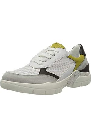 Marco Tozzi Damen 2-2-23712-34 Sneaker, Mehrfarbig (White/Lime 188)
