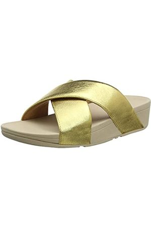 FitFlop Damen Lulu Slide-Leather Sandalen, (Artisan 667)