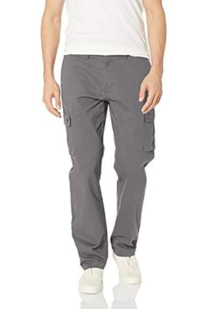 Amazon Herren-Cargohose mit gerader Passform, dark grey