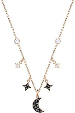 Swarovski Symbolic Moon Halskette für Frauenes Kristall