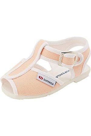 Superga Unisex-Kinder 1200-cotj Slingback Sandalen, Pink (Pink Peach X7Z)