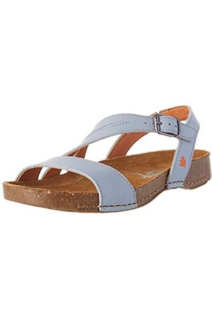 Art Damen 1045 Grass I Breathe Peeptoe Sandalen, (Sky Grey Sky Grey)