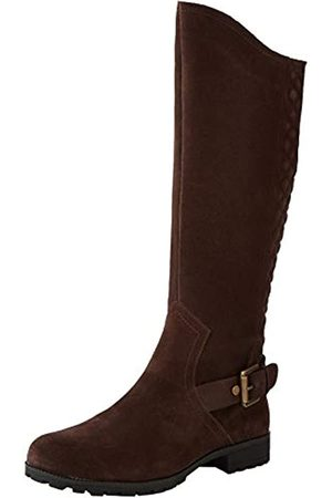 Hotter Damen Sandringham Hohe Stiefel, (Chocolate 14)