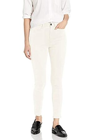 Daily Ritual Sateen High-Rise Skinny Ankle pants