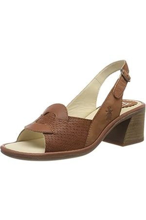 Fly London Damen Leso179fly Slingback Sandalen, (Tan 002)