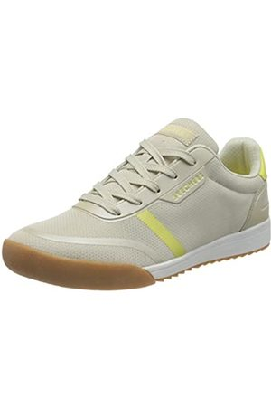Skechers Damen Zinger 2.0 Sneaker, (Natural Mesh/Yellow Duraleather Trim NTYL)