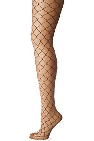 BELLY CLOUD Damen Netzstrumpfhose großes Netz Strumpfhose