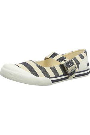 Rocket Dog Damen Jazzin Jane Slip On Sneaker, (Piper Navy B02)