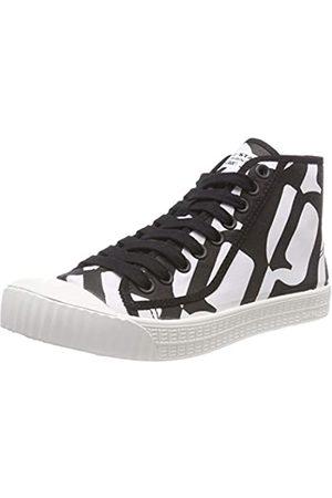 G-Star Herren ROVULC MID AOP Hohe Sneaker, Mehrfarbig (Black/Milk Ao 5948)