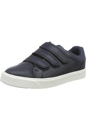 Clarks Jungen City OasisLo K Sneaker, (Navy Navy)