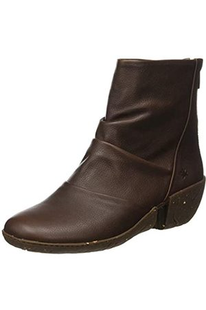 El Naturalista Damen N5481 Soft Grain Caliza Kurzschaft Stiefel, (Brown Brown)