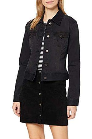 Herrlicher Damen Joplin Wool Denim Black Jacke