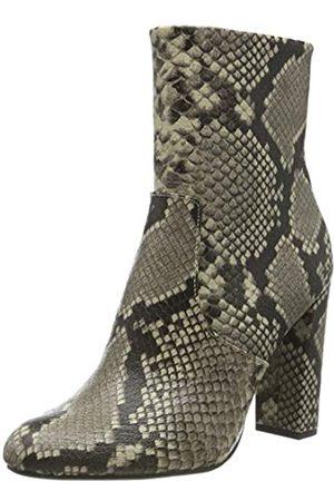 Steve Madden Damen Editor Ankle Boot Stiefeletten, Mehrfarbig (Natural Snake 236)