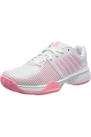 K-Swiss Damen KS TFW Express Light 2 HB-WHT BLSHING M Tennisschuhe, White/pink/Blushing Bride