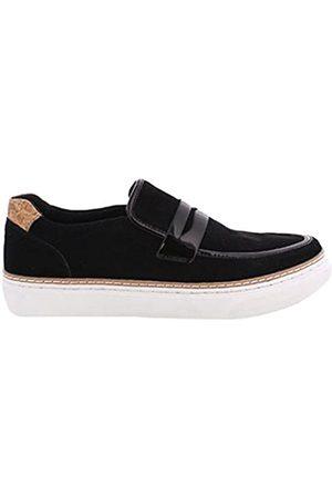 Sixtyseven Damen 77725 Kleid-Schuhe, Suede Negro/Patent Negro