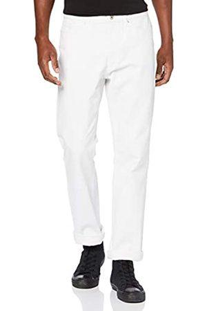 FIND Amazon-Marke: Herren Straight Cut Jeans mit umgeschlagenem Bein, 33W / 32L