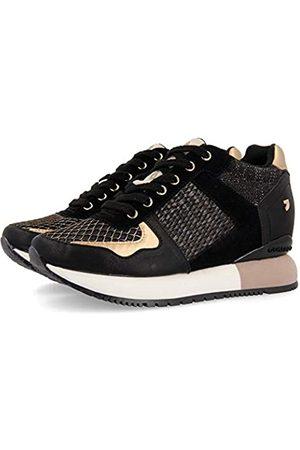 Gioseppo Damen Bastogne Sneakers, (Negro Negro)