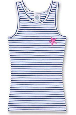 Sanetta Mädchen Shirt w/o Sleeves Stripe Unterhemd