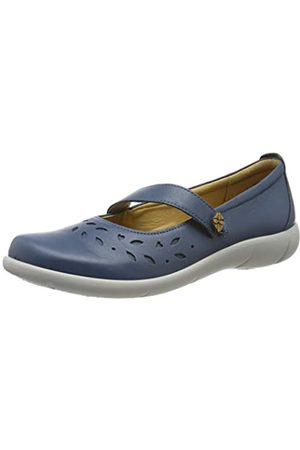 Hotter Peace, Damen Mary Jane Halbschuhe, (Blue River 105)