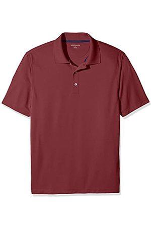 Amazon Regular-Fit Quick-Dry Golf Polo Shirt Poloshirt, Port