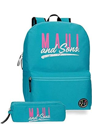 Maui & Sons Maui and Sons Hawai Schulrucksack 40 Centimeters 15.6 (Verde)