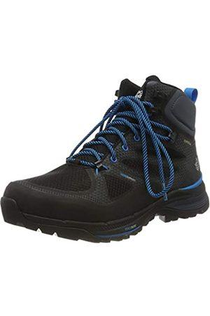 Jack Wolfskin Herren Force Striker Texapore MID M Trekking- & Wanderstiefel, (Black/Blue 6058)