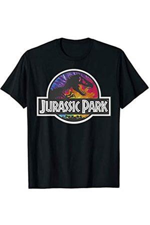 Unbekannt Jurassic Park Classic Logo Tie Dye T-Shirt