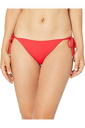 Seafolly Damen Petal Edge Brazilian Tie Side Bikinihose Chilli)