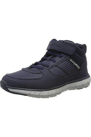 KangaROOS Unisex-Kinder Caspo EV JR Hohe Sneaker, (Dk Navy/Vapor Grey 4075)