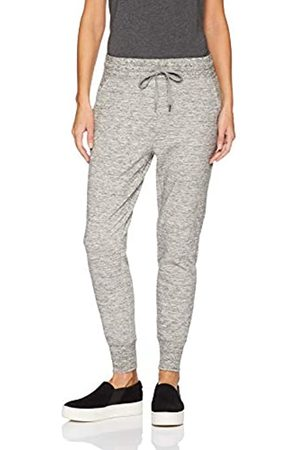 Daily Ritual Terry Cotton and Modal Jogger athletic-sweatpants, Heather Space Dye