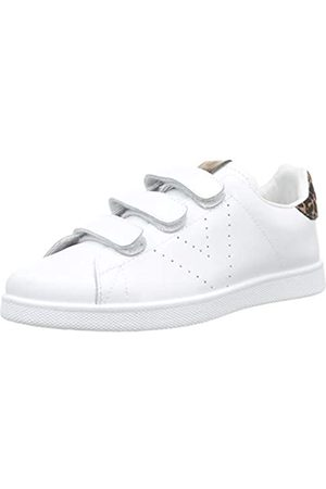 victoria Unisex-Erwachsene Tenis Velcros Piel/Leopardo Sneaker, (Bronze 76)