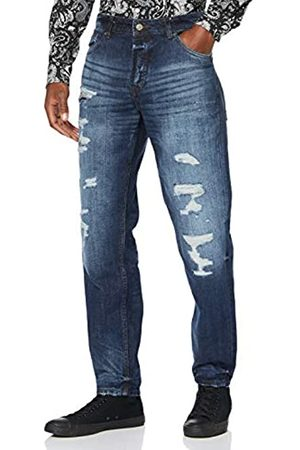 Only & Sons Herren ONSAVI Destroy DCC 4117 Straight Jeans