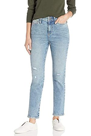Daily Ritual High-Rise Slim Straight Jeans 28