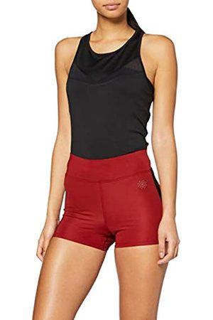AURIQUE Amazon-Marke: Damen Sportshorts mit Seitenstreifen, 38